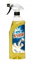 KRYSTAL Mycí prostředek na koupelny 750 ml žlutý