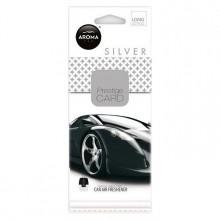 Osvěžovač vzduchu AROMA CAR CITY Card Silver