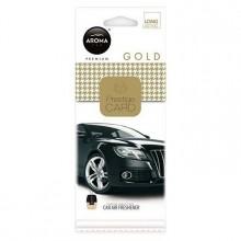 Osvěžovač vzduchu AROMA CAR CITY Card Gold