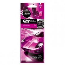Osvěžovač vzduchu AROMA CAR CITY Bubble Gum