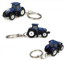 Přívěsek na klíček Traktor NEW HOLLAND T7.225