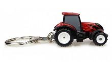 Přívěsek na klíček Traktor VALTRA T4 Series červená