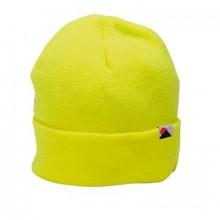 Čepice zimní reflexní ELYSEE žlutá