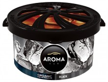 Osvěžovač AROMA CAR ORGANIC BLACK 40g