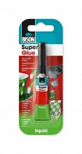 Lepidlo BISON SUPER GLUE LIQUID vteřinové 3g