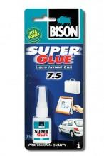 Lepidlo BISON SUPER GLUE PROFFESIONAL vteřinové 7,5ml