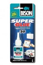 Lepidlo BISON SUPER GLUE INDUSTRY vteřinové 20ml