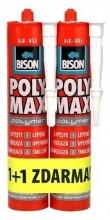 Lepidlo montážní BISON POLY MAX POLYMER 465g 1 + 1