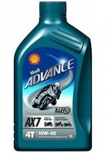 Olej SHELL ADVANCE 4T AX7 10W-40 1L