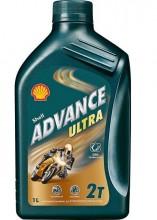 Olej SHELL ADVANCE ULTRA 2T 1L