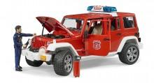 Auto JEEP WRANGLER HASIČI BRUDER 02528 s figurkou WORLD