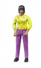 Figurka žena fialové kalhoty WORLD BRUDER 60403