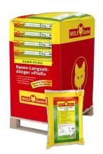 Trávníkové hnojivo dlouhodobé LX-MU 800 WOLF-Garten paleta 400 kg