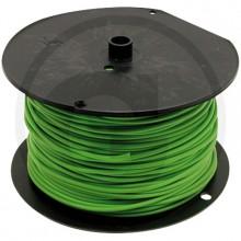 Kabel 1 pramenný PVC 1 CMSM zelený