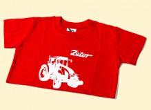 Tričko ZETOR dětské červené 6 let
