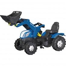 Traktor šlapací NEW HOLLAND T7 s čelním nakladačem ROLLY TOYS