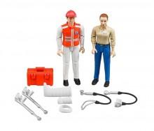 Figurky zachránáře a pacienta WORLD BRUDER 62710
