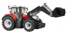 Traktor STEYER 6300 Terrus CVT čelním nakladačem BRUDER 03181