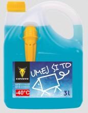 Kapalina do ostřikovačů zimní COYOTE -40°C 3L