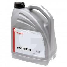 Olej GRANIT motorový 15W-40 5L