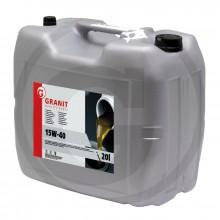 Olej GRANIT motorový 15W-40 20L