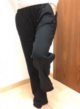 Kalhoty dámské teplákové ACODE černé