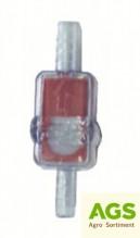 Filtr palivový VARI, TERRA na hadičku 6/6 mm