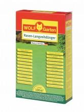 Trávníkové hnojivo dlouhodobé L-PE 100 WOLF-Garten 1,8 kg