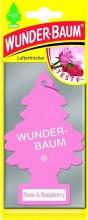 Osvěžovač stromeček WUNDER-BAUM ROSE A RASPBERRY