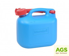 Kanystr 5 L plastový STANDARD modrý