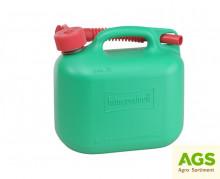 Kanystr 5 L plastový STANDARD zelený
