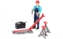 Figurka muž mechanik s heverem a příslušenstvím WORLD BRUDER 62100