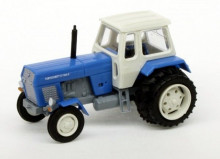 Traktor FORTSCHRITT ZT 300 D modrý s dvojmontáží BUSCH 8706