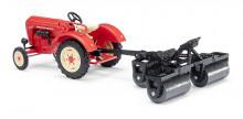 Traktor PORSCHE JUNIOR K s taženými vály BUSCH 50010