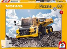 Puzzle VOLVO dumper A30G 60 dílů