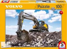 Puzzle VOLVO bagr EC380E 100 dílů