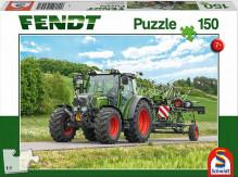 Puzzle Traktor FENDT a obraceč sena 150 dílů