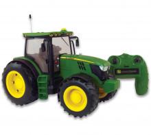 BRITAINS RC Traktor JOHN DEERE 6190R na dálkové ovládání