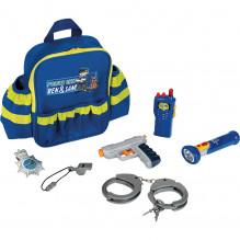 Policejní dětský batoh s výzbrojí KLEIN 8802