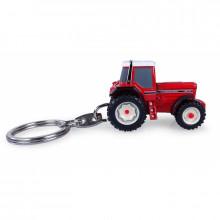 UNIVERSAL HOBBIES UH 5836 Přívěsek na klíček Traktor CASE INTERNATIONAL 1455XL 1:128