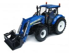 Traktor NEW HOLLAND T5.115 s nakladačem UNIVERSAL HOBBIES UH 4274