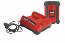 SET nabíječka baterie 40V + baterie 2,0 Ah LI-ION