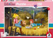 Schmidt Puzzle Bibi a Tina 150 dílů