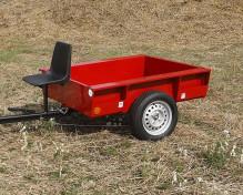 Vozík přívěsný VARES HV 500-5 pneu 155/70 R13