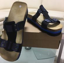 Obuv pracovní sandál LA PALMA JANA modrý