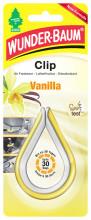 Osvěžovač a vůně WUNDER-BAUM CLIP VANILLA