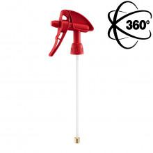 Dvojčinný rozprašovač MERCURY BLUE Pro + 360° RED