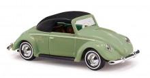 BUSCH 46733 Auto VW Brouk CABRIO zelený 1:87