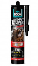 Lepidlo montážní BISON GRIZZLY MONTAGE POWER WHITE 370g