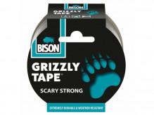 Páska samolepící BISON GRIZZLY TAPE 10 m stříbrná